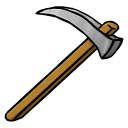 Iron Hoe Icon