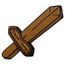 Wooden Sword Icon