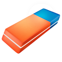 128x128px size png icon of Eraser