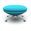 SkyBlue Seat Icon