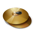 128x128px size png icon of Cymbals