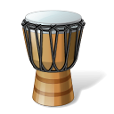 128x128px size png icon of Goblet Drum