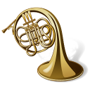 128x128px size png icon of Horn