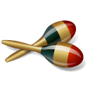 128x128px size png icon of Maracas
