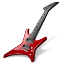 128x128px size png icon of Rock Guitar