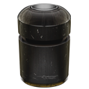 128x128px size png icon of Trash Can Empty
