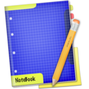 128x128px size png icon of Blue NoteBook
