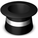 128x128px size png icon of Top hat