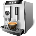 128x128px size png icon of Coffee machine