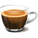 128x128px size png icon of Cup coffee