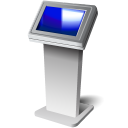 128x128px size png icon of Touch screen kiosk