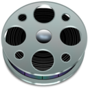128x128px size png icon of Bobines video