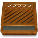 128x128px size png icon of Dossier ferme