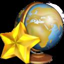 128x128px size png icon of Favoris reseaux