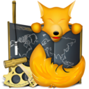 128x128px size png icon of Firefox old school final