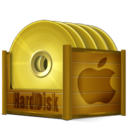 128x128px size png icon of HDD OSX