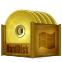 128x128px size png icon of HDD Windows