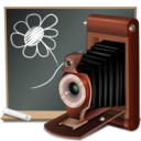 128x128px size png icon of My Picture old school