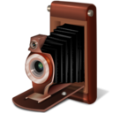 128x128px size png icon of Old camera