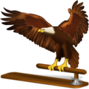128x128px size png icon of Old thunderbird v2