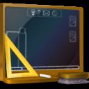 128x128px size png icon of Ordinateur