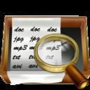 128x128px size png icon of Recherche doc