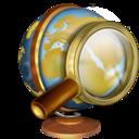 128x128px size png icon of Recherche internet