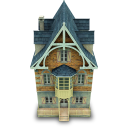 128x128px size png icon of Old House