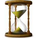 128x128px size png icon of Hourglass Sandclock