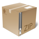 128x128px size png icon of PackageIcon   Zip