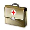 128x128px size png icon of medical bag