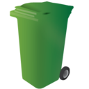 128x128px size png icon of bin