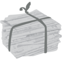128x128px size png icon of paper