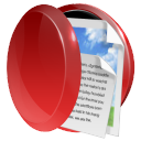 128x128px size png icon of folder live data