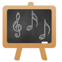 128x128px size png icon of Music Lesson