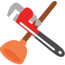 128x128px size png icon of Plumbing
