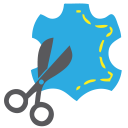 128x128px size png icon of Scissor Sew