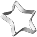128x128px size png icon of Cookie Cutter