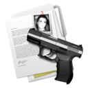 128x128px size png icon of shoot em up folder