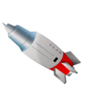 128x128px size png icon of Rocket