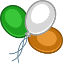 balloons color Icon