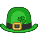128x128px size png icon of hat bowlhat