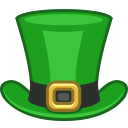 128x128px size png icon of hat tophat
