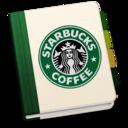 128x128px size png icon of StarbucksAddressBookV2 by chekkz