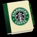128x128px size png icon of StarbucksAddressBookV3 by chekkz
