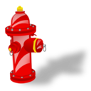 128x128px size png icon of Fire Plug