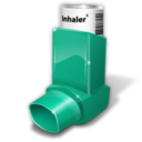 128x128px size png icon of asthma inhaler
