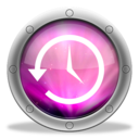 128x128px size png icon of TimeMachine Aurora