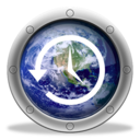 128x128px size png icon of TimeMachine Earth 3