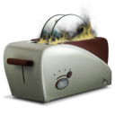 128x128px size png icon of toast2